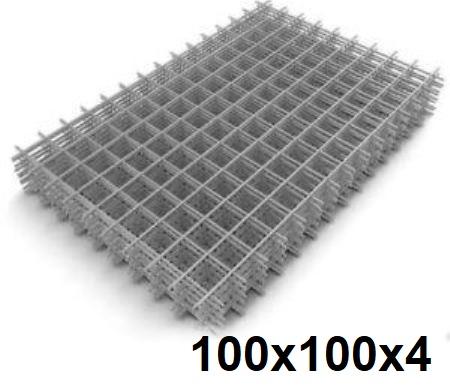 Сетка кладочная сварная 100х100х4мм (карта)