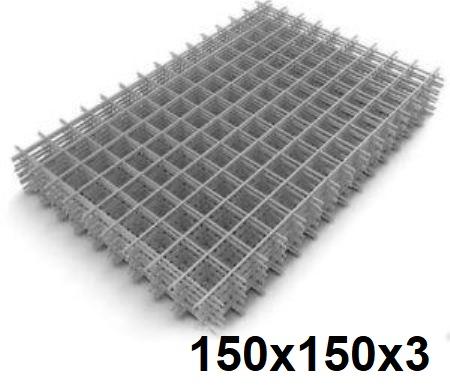 Сетка кладочная сварная 150х150х3мм (карта)