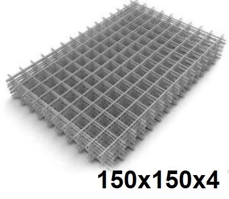 Сетка кладочная сварная 150х150х4мм (карта)