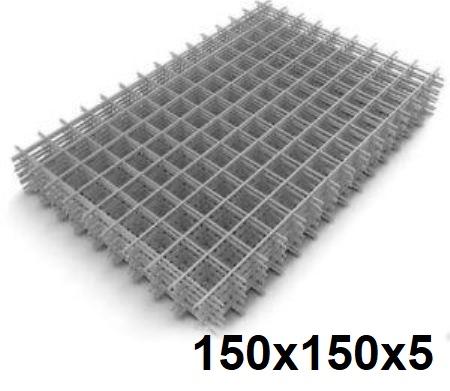 Сетка кладочная сварная 150х150х5мм (карта)