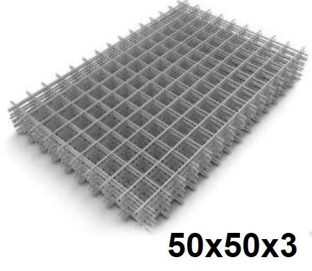 Сетка кладочная сварная 50х50х3мм (карта)