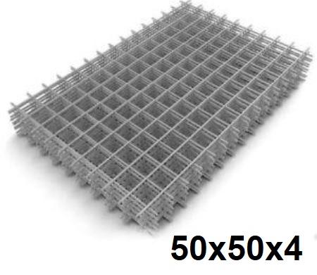Сетка кладочная сварная 50х50х4мм (карта)