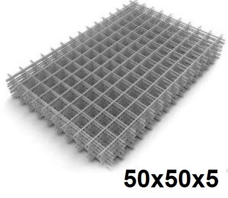 Сетка кладочная сварная 50х50х5мм (карта)