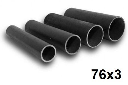 Труба электросварная (ЭСВ) 76х3мм