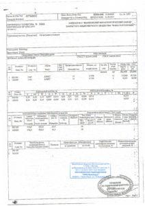 Сертификат на арматуру 14 мм